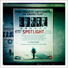 "L'affiche de ""Spotlight"" sur le web. Photo: PHB/LSDP"