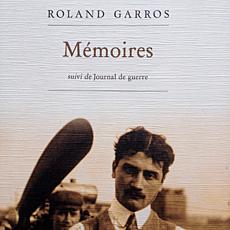 Mémoires de Roland Garros. Couverture du livre. Photo: PHB/LSDP P