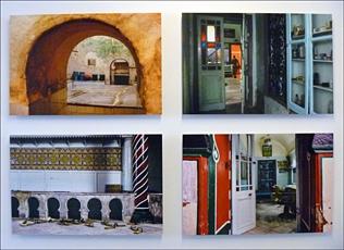 Photos d'Ichem Driss à l'Institut des cultures de l'islam. Prise de vue: PHB/LSDP