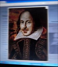 William Shakespeare sur la page Wiki. Photo: PHB/LSDP