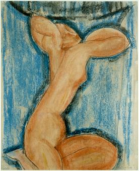 Cariatide (vers 1913-1914). ©Musée d'art moderne / Roger Viollet