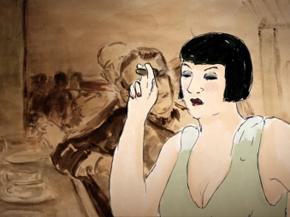 Kiki de Montparnasse. Image extraite du film