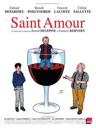 Saint-Amour, l'affiche du film
