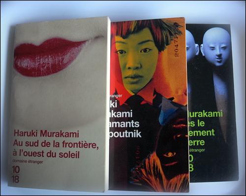 Quelelques livres de Murakami. Photo: PHB/LSDP