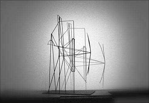 La maquette agrandie du projet Apollinaire. Photo: PHB/LSDP