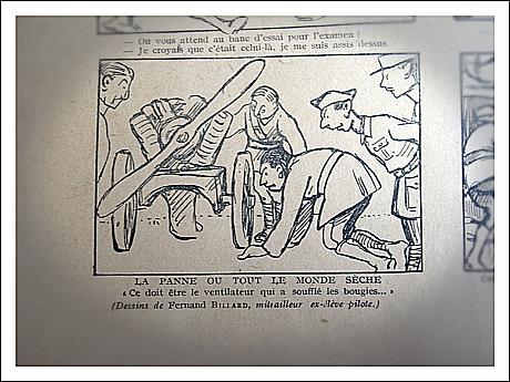 """Dans le numéro 17 de """"La guerre aérienne"""". Photo: PHB/LSDP"""