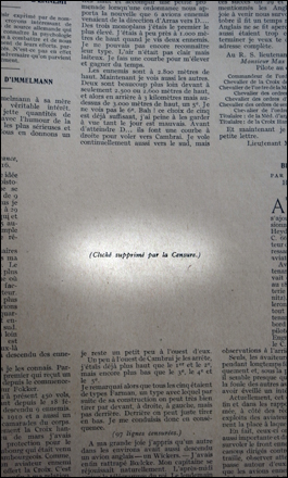 """La guerre aérienne"". Photo: PHB/LSDP"