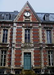 Façade de l'Hôtel-Dieu Château Thierry. Photo: PHB/LSDP