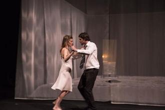 """Scène de """"La ménagerie de verre"""". Photo: Elisabeth Carecchio"""