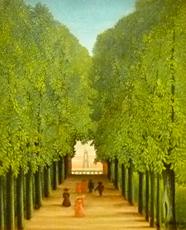 Le parc de Saint-Cloud, le Douanier Rousseau. Photo: PHB/LSDP