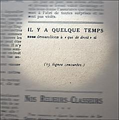 """Extrait de """"La guerre aérienne"""". Photo: PHB/LSDP"""
