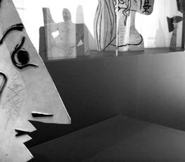 """""""Picasso sculptures"""", aspect de l'exposition. Photo: PHB/LSDP"""