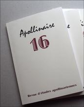 """L""""actuelle revue Apollinaire. Photo: PHB/LSDP"""
