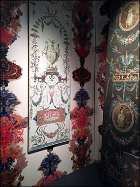 Confontation de deux styles séparés par deux siècles. aperçu de l'exposition. Photo: VM