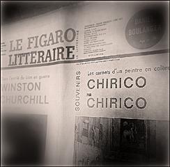Le Figaro Littéraire. Janvier 1965. Photo: PHB/LSDP