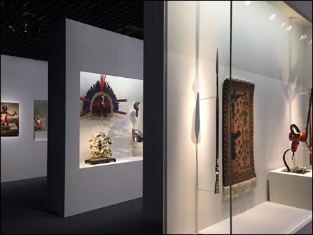 """""""Carambolages"""". Aspect de l'exposition. Photo: VM"""