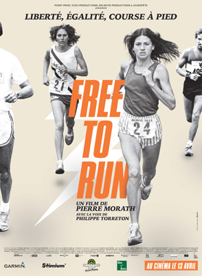 """free to run"": l'affiche"