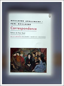 Correspondance Guillaume Apollinaire/Paul Guillaume. Photo: PHB/LSDP