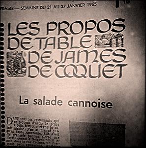 Extrait du Figaro Littéraire, janvier 1965. Photo: PHB/LSDP