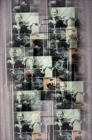 Yehudi Menuhim sur le mur d'images Google. Illustration: PHB/LSDP