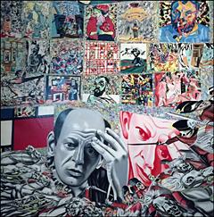 """Les Origines de Pollock"", 1967. Erro. Photo: VM"