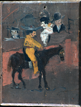 "Pablo Picasso ""El Picador/""1889/Coll.particuliere/photo (c)Maurice_Aeschimann (c)Succession Picasso 2016"