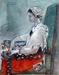 2.-Pablo_Picasso_Portrait_de_Paule_de_Lazerme_en_catalane_1954_Musee_BA_Hyacinthe_Rigaud(c)Succession_Picasso_2016