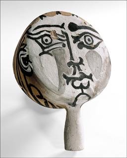 Pablo Picasso Visage(IV)1950Coll.particulière/photo(c)Maurice Aeschimann (c)Succession Picasso 2016