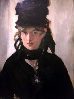 Berthe Morisot par Manet. Photo: MPS