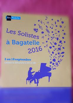Les solistes à Bagatelle. Photo: LBM