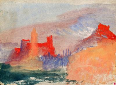 """""""Les tours vermillon, étude à Marseille"""". Copyright: Tate Gallery"""