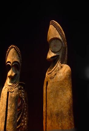 Collections du Musée du Quay Branly. photo: PHB/LSDP