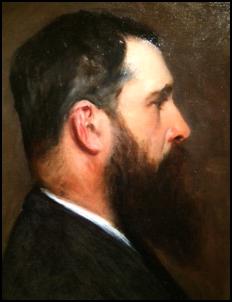 """(Ci-contre: Claude Monet en """"hispter"""" vers 1887/John Singer Sargent, Photo: MPS)"""