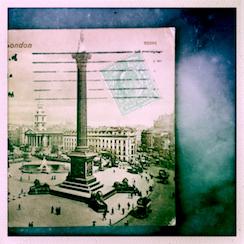Détail d'une vieille carte postale de Londres. Photo: PHB/LSDP