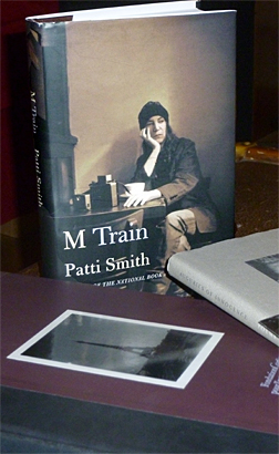 """M Train"" de Patti Smith. Photo: Baptiste Fauvel"