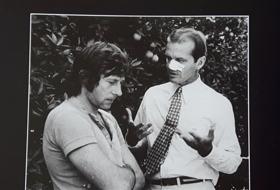 """Page de """"Roman"""" avec Polanski et Nicholson. Photo: LBM"""