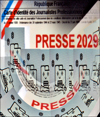 Carte de presse 2029. Illustration: PHB/LSDP