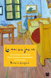 """""""La maison jaune"""" couverture du livre de Martin Gayfard"""