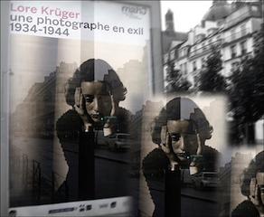 Lore Krüger. Affiche de l'exposition. Photo: PHB/LSDP