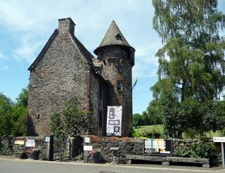 Le château de la Trémolière. Photo: MF Laborde