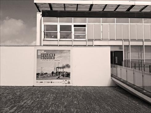 Aspect du Musée André Malraux au Havre. Photo: PHB/LSDP