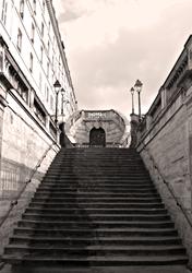Escalier monumental de la Gare de l'Est. Photo: PHB/LSDP