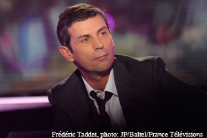 Frédéric Taddei. Photo JP/Baltel/France Televisions