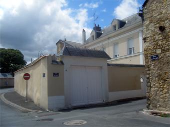 La rue Réjane à Thouars. Photo: Bruno Sillard