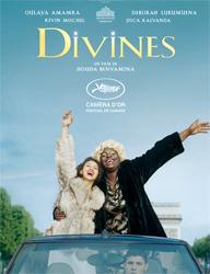 """L'affiche de """"Divines"""""""