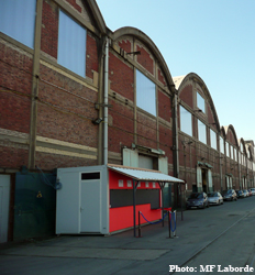 L'usine Babcok et Wilcox. Photo: MF Laborde