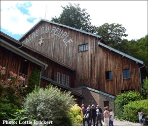 Théâtre de Bussang. Photo: Lottie Brickert