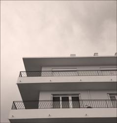 Immeuble avec balcons. Photo: PHB/LSDP