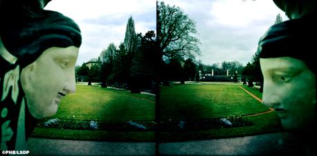 Double aperçu du jardin des Serres d'Auteuil. Photo: PHB/LSDP