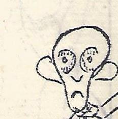 """Dtéil d'un dessin de Ferdinand Dupuis dans """"La Voix du veau"""""""